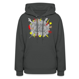 The Rules of Fight Cloud - Women's Hoodie