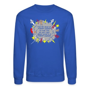 The Rules of Fight Cloud - Crewneck Sweatshirt