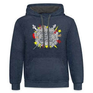 The Rules of Fight Cloud - Contrast Hoodie