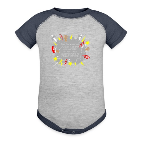 The Rules of Fight Cloud - Baby Contrast One Piece