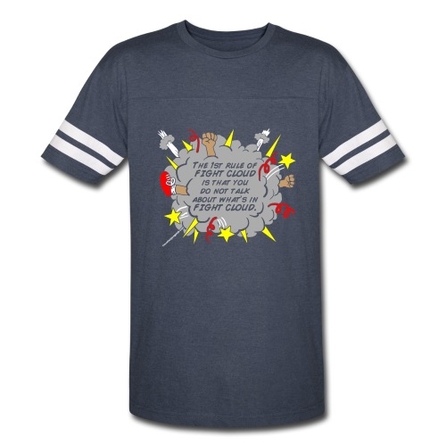 The Rules of Fight Cloud - Vintage Sport T-Shirt