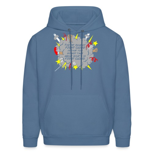 The Rules of Fight Cloud - Men's Hoodie