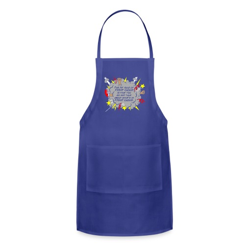 The Rules of Fight Cloud - Adjustable Apron