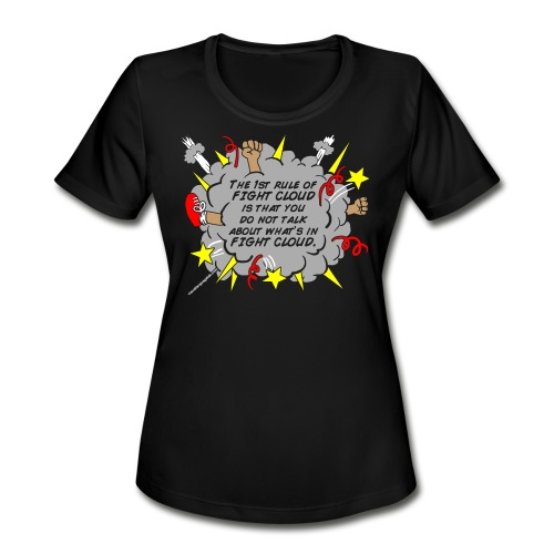 The Rules of Fight Cloud - Women's Moisture Wicking Performance T-Shirt