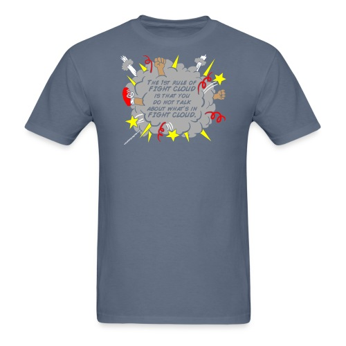 The Rules of Fight Cloud - Men's T-Shirt