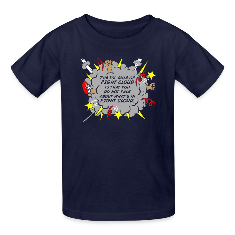 The Rules of Fight Cloud - Kids' T-Shirt