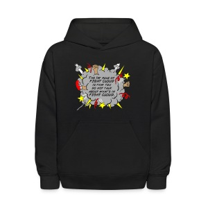 The Rules of Fight Cloud - Kids' Hoodie
