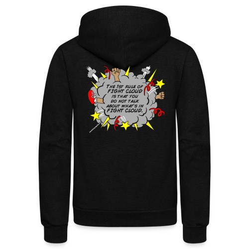 The Rules of Fight Cloud - Unisex Fleece Zip Hoodie