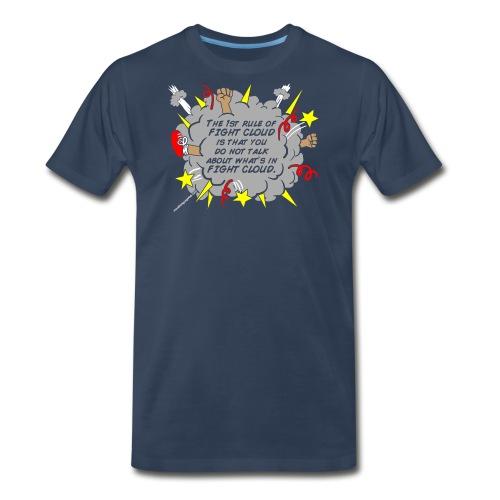 The Rules of Fight Cloud - Men's Premium T-Shirt