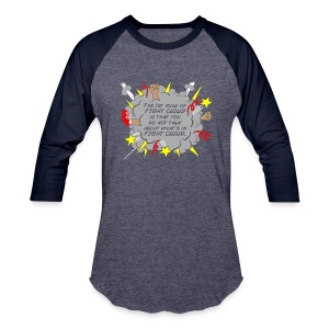The Rules of Fight Cloud - Baseball T-Shirt