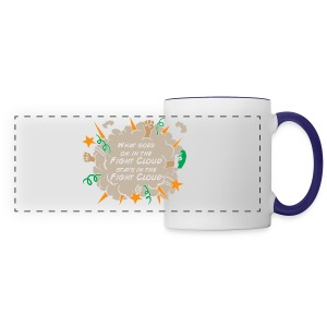 What goes on in Fight Clouds? - Panoramic Mug