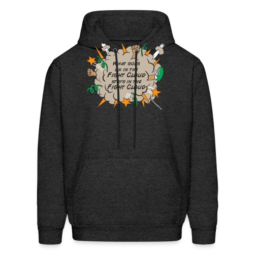 What goes on in Fight Clouds? - Men's Hoodie