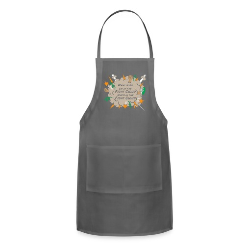 What goes on in Fight Clouds? - Adjustable Apron