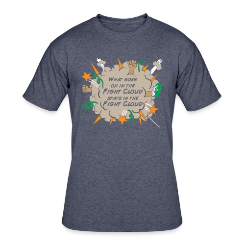What goes on in Fight Clouds? - Men's 50/50 T-Shirt