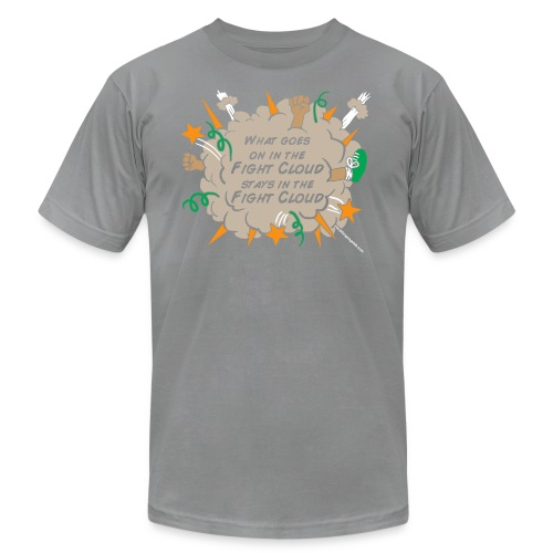 What goes on in Fight Clouds? - Men's Fine Jersey T-Shirt