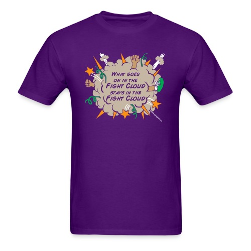 What goes on in Fight Clouds? - Men's T-Shirt