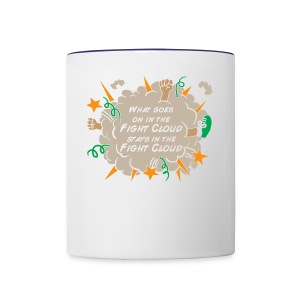 What goes on in Fight Clouds? - Contrast Coffee Mug