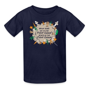 What goes on in Fight Clouds? - Kids' T-Shirt