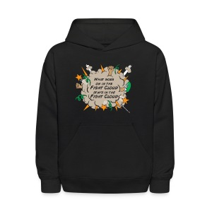 What goes on in Fight Clouds? - Kids' Hoodie