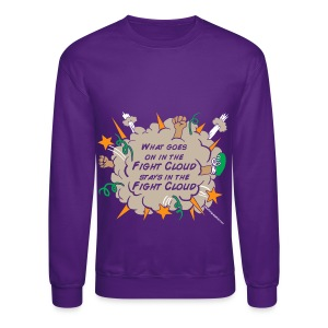 What goes on in Fight Clouds? - Crewneck Sweatshirt