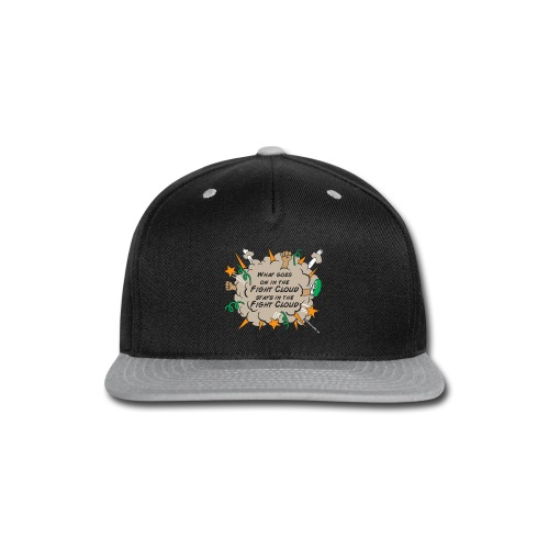 What goes on in Fight Clouds? - Snap-back Baseball Cap