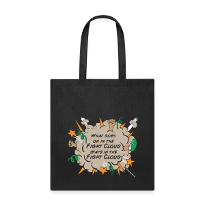What goes on in Fight Clouds? - Tote Bag