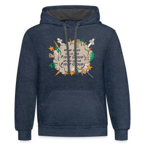 What goes on in Fight Clouds? - Contrast Hoodie
