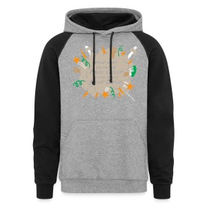 What goes on in Fight Clouds? - Colorblock Hoodie