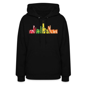 Chicago Hockey Skyline - Women's Hoodie