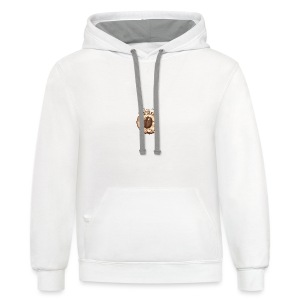 coffee caffeine java starbucks sugar buzz - Contrast Hoodie