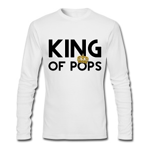 King Of Pops - Men's Long Sleeve T-Shirt by Next Level
