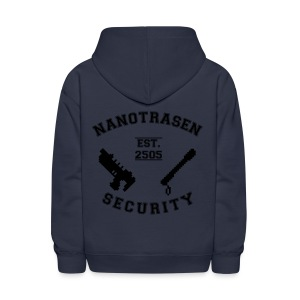 Security Varsity Zip Up Hoodie - Kids' Hoodie