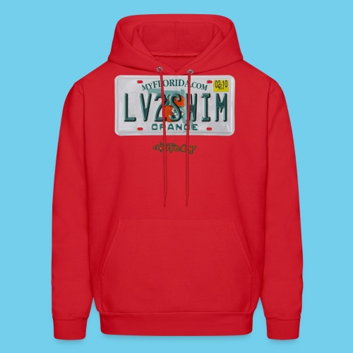NEW PRODUCT SPECIAL, $3 off!! License Plate Tee- Men's - Men's Hoodie