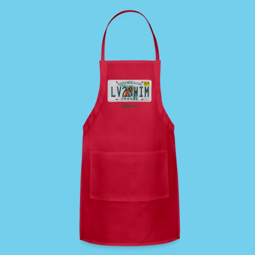 NEW PRODUCT SPECIAL, $3 off!! License Plate Tee- Men's - Adjustable Apron