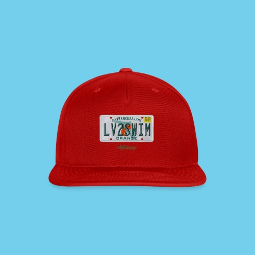 NEW PRODUCT SPECIAL, $3 off!! License Plate Tee- Men's - Snap-back Baseball Cap