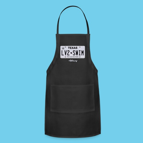 LIMITED TIME SALE- $3 OFF!! License Plate Tee- Womens - Adjustable Apron