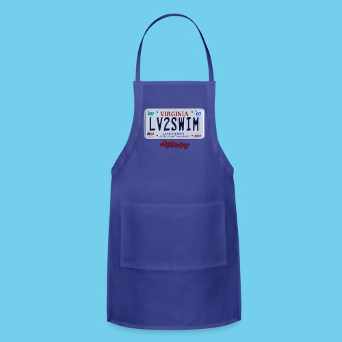 LIMITED TIME SALE- $3 OFF!! VA License Plate Tee- Youth - Adjustable Apron