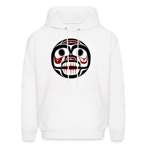 Northwest Pacific coast Haida Weeping skull - Men's Hoodie