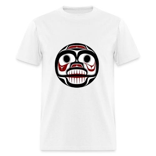 Northwest Pacific coast Haida Weeping skull - Men's T-Shirt