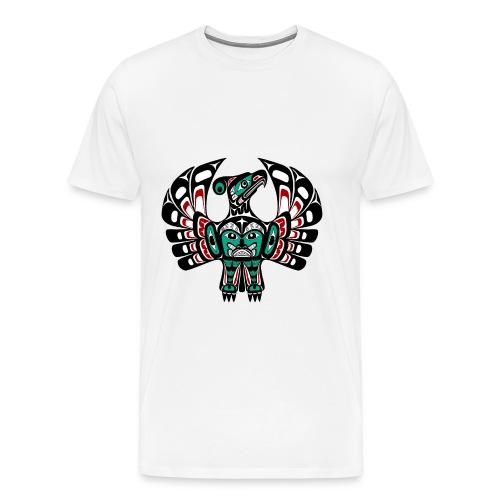 Northwest Pacific coast Haida art Thunderbird - Men's Premium T-Shirt