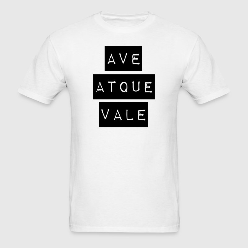 AVE ATQUE VALE T-Shirts - Men's T-Shirt