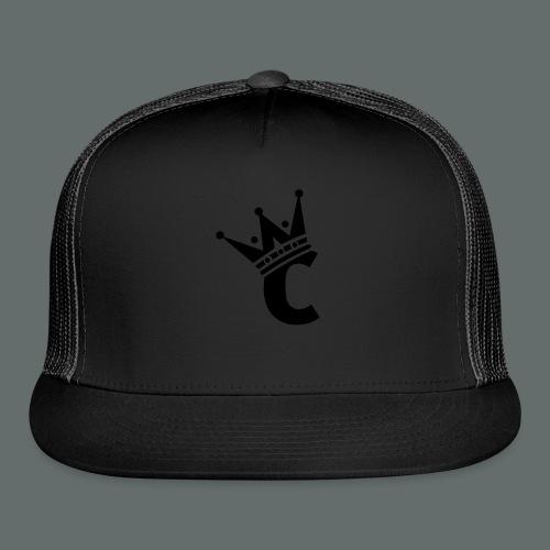 Snap-back Baseball Cap - Trucker Cap