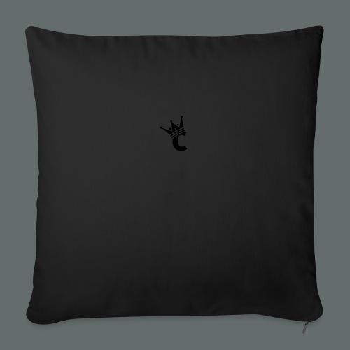 "Snap-back Baseball Cap - Throw Pillow Cover 18"" x 18"""