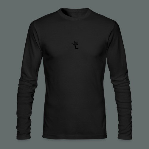Snap-back Baseball Cap - Men's Long Sleeve T-Shirt by Next Level