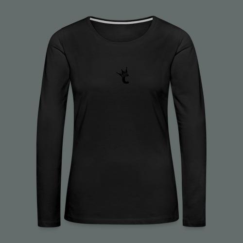 Snap-back Baseball Cap - Women's Premium Long Sleeve T-Shirt