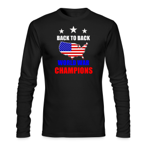 Back to Back - Men's Long Sleeve T-Shirt by Next Level