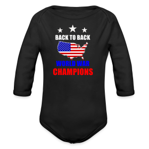Back to Back - Long Sleeve Baby Bodysuit