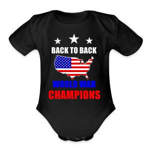 Back to Back - Short Sleeve Baby Bodysuit