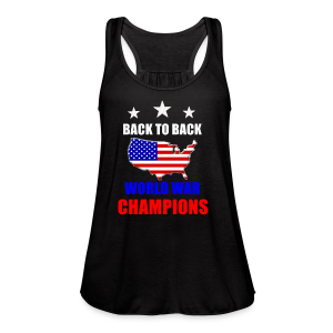 Back to Back - Women's Flowy Tank Top by Bella