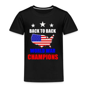 Back to Back - Toddler Premium T-Shirt